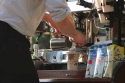 Straßen-Kaffee